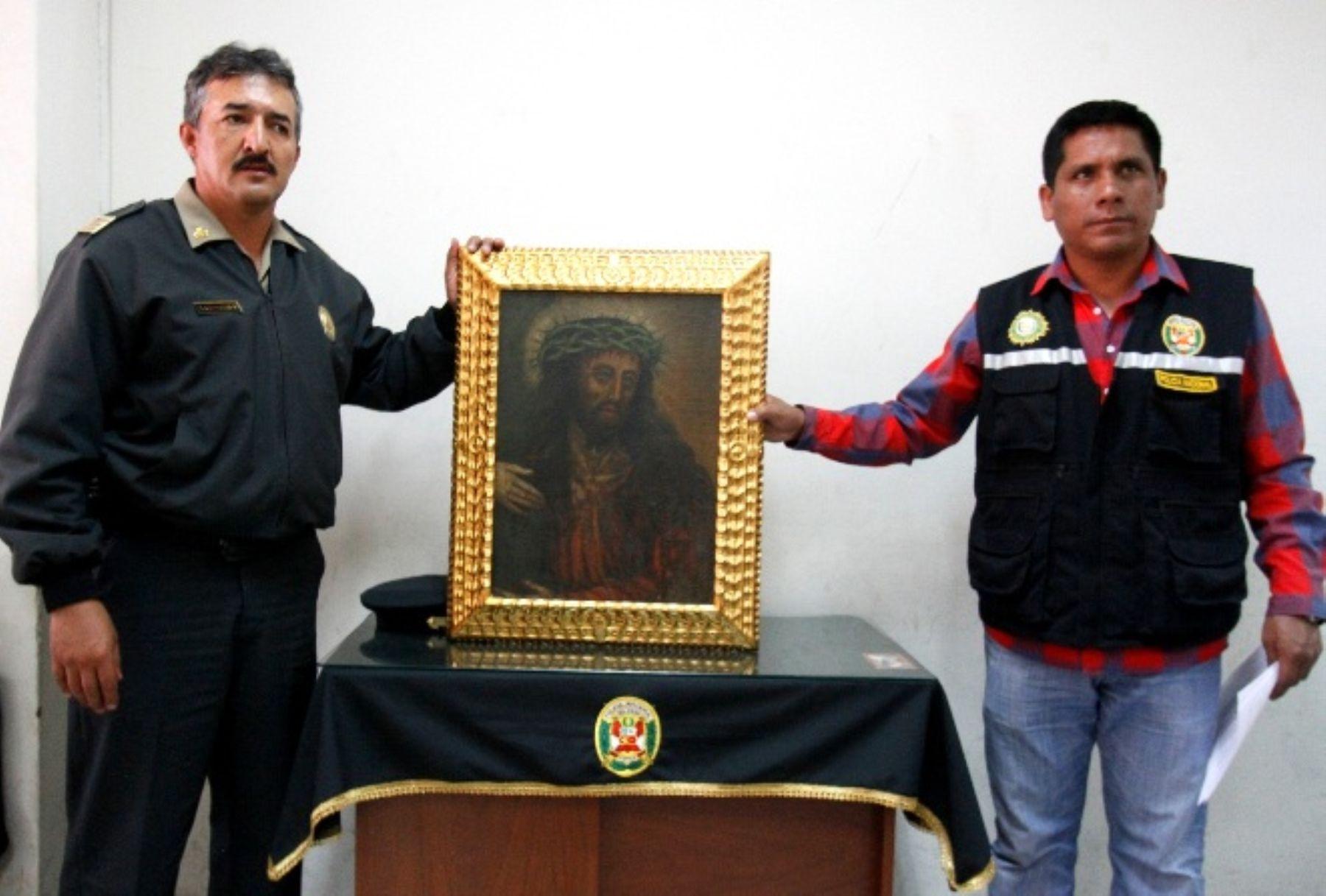 Foto referencial sobre arte de la Escuela Cusqueña ANDINA/Percy Hurtado Santillán