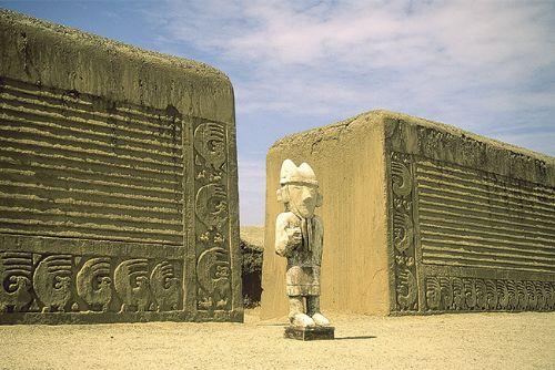 El complejo arqueológico Chan Chan, ubicado en La Libertad, celebra hoy 34 años de su inclusión en Lista del Patrimonio Mundial de la Unesco