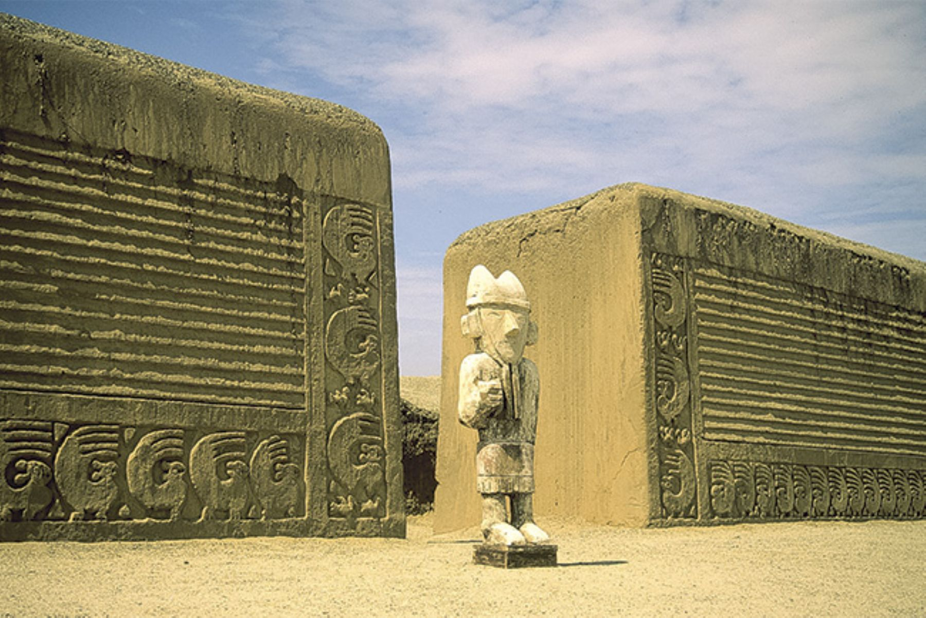 Chan Chan ruins, the largest city of pre-Hispanic America.