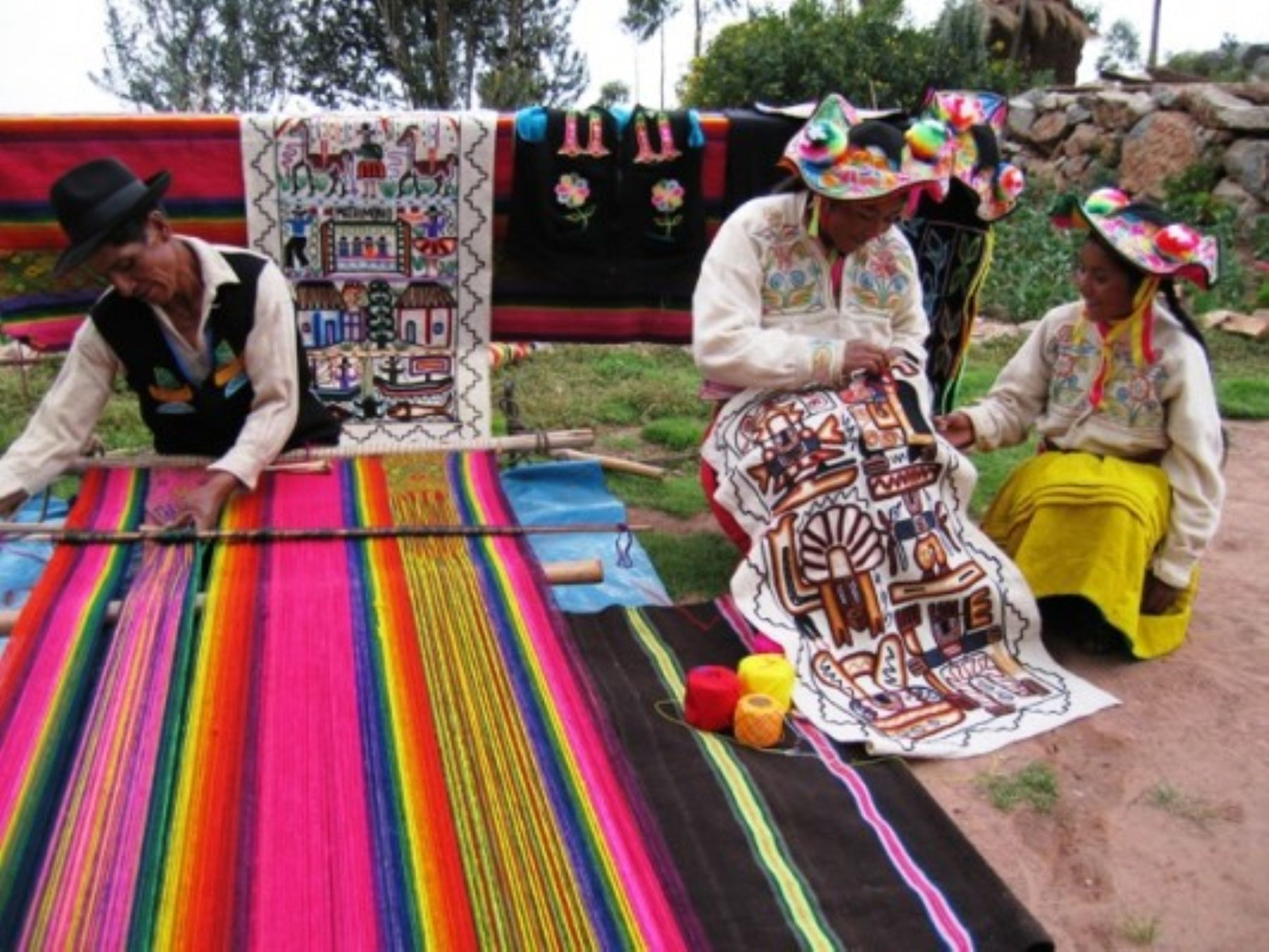 Emprendedores de la zona andina del país. ANDINA/Difusión