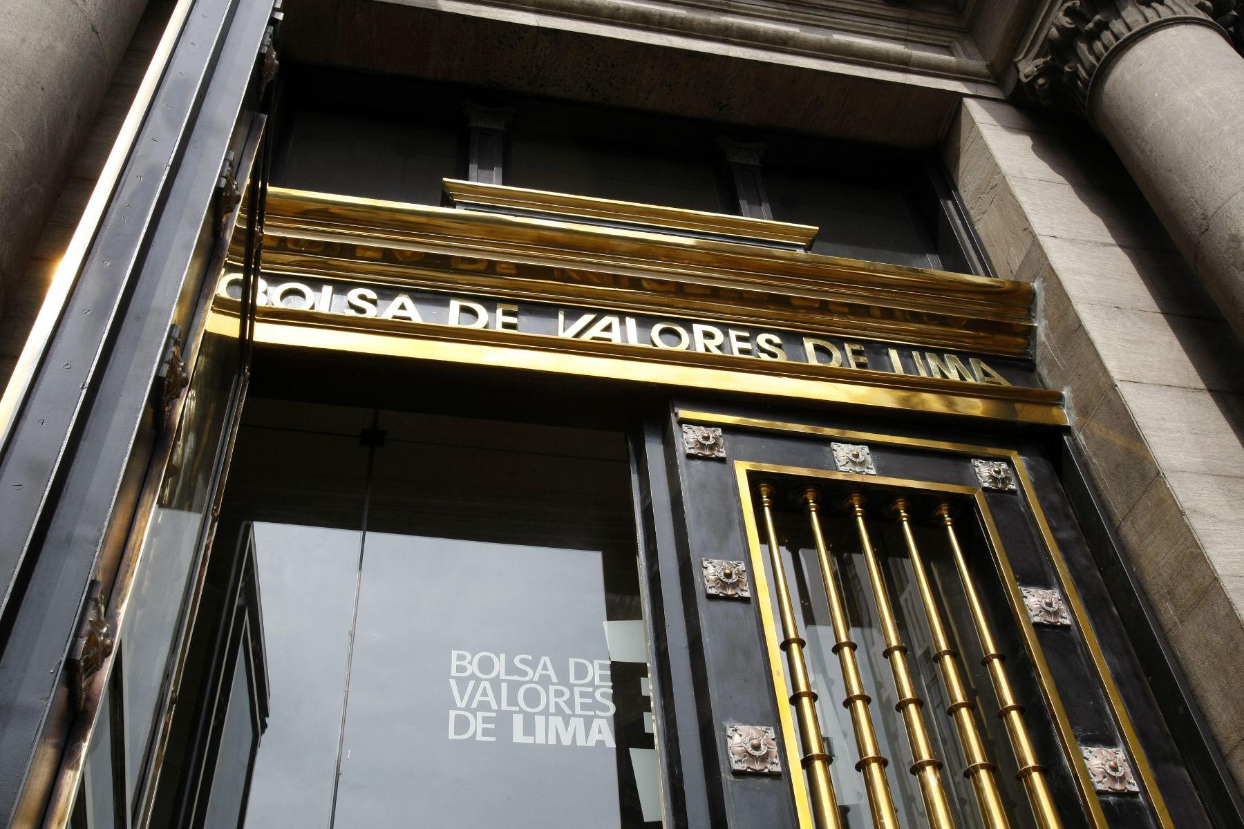 Bolsa de Valores de Lima (BVL). Foto: ANDINA/Norman Córdova.