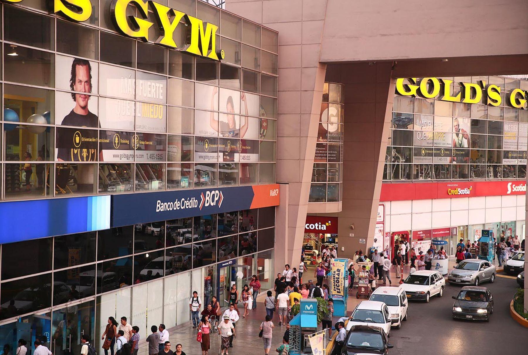 Centro comercial. ANDINA/Carlos Lezama