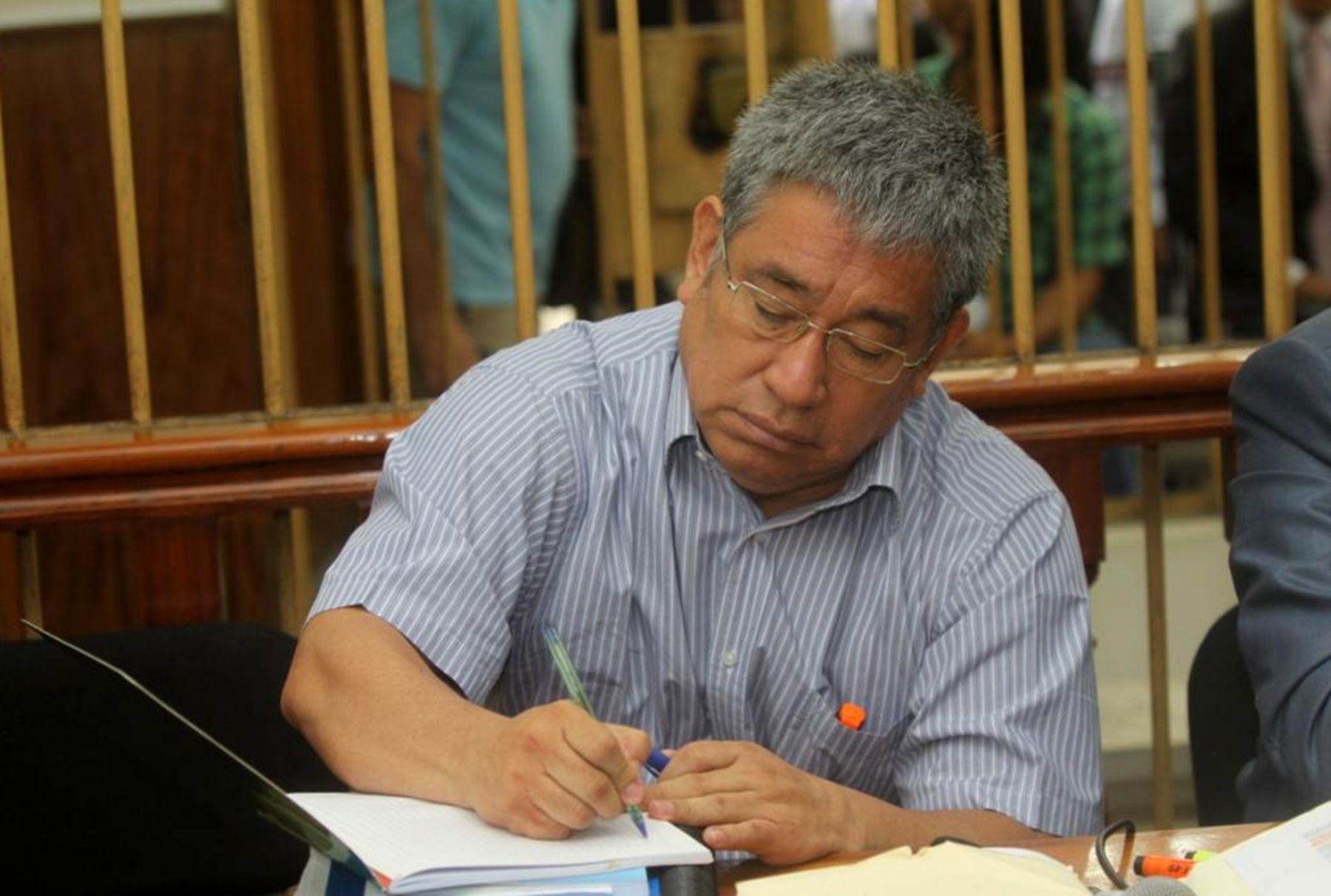 Expresidente de la Comisión de Indultos y Gracias Presidenciales del gobierno aprista, Miguel Facundo Chinguel. ANDINA/Difusión