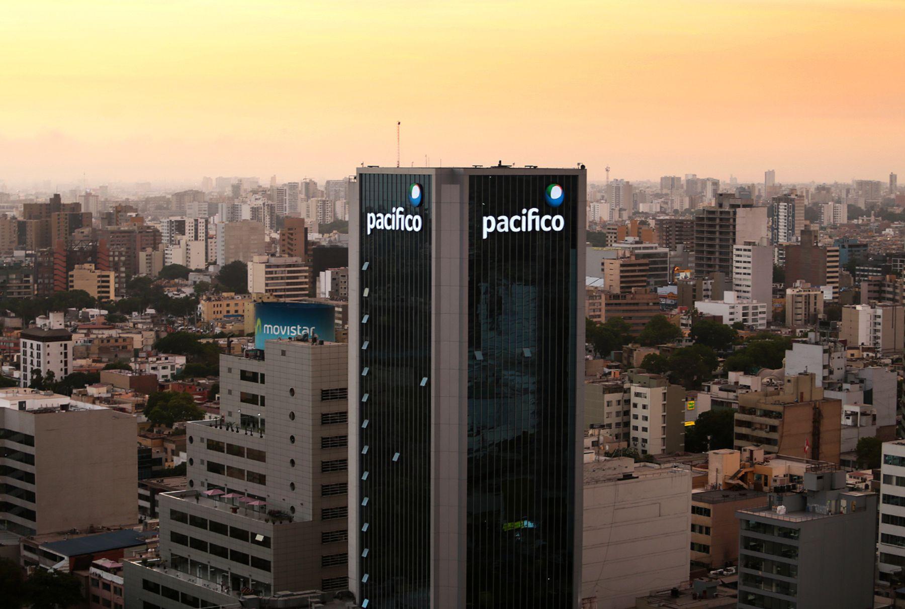 Centro financiero de Lima. Foto: ANDINA/Carlos Lezama