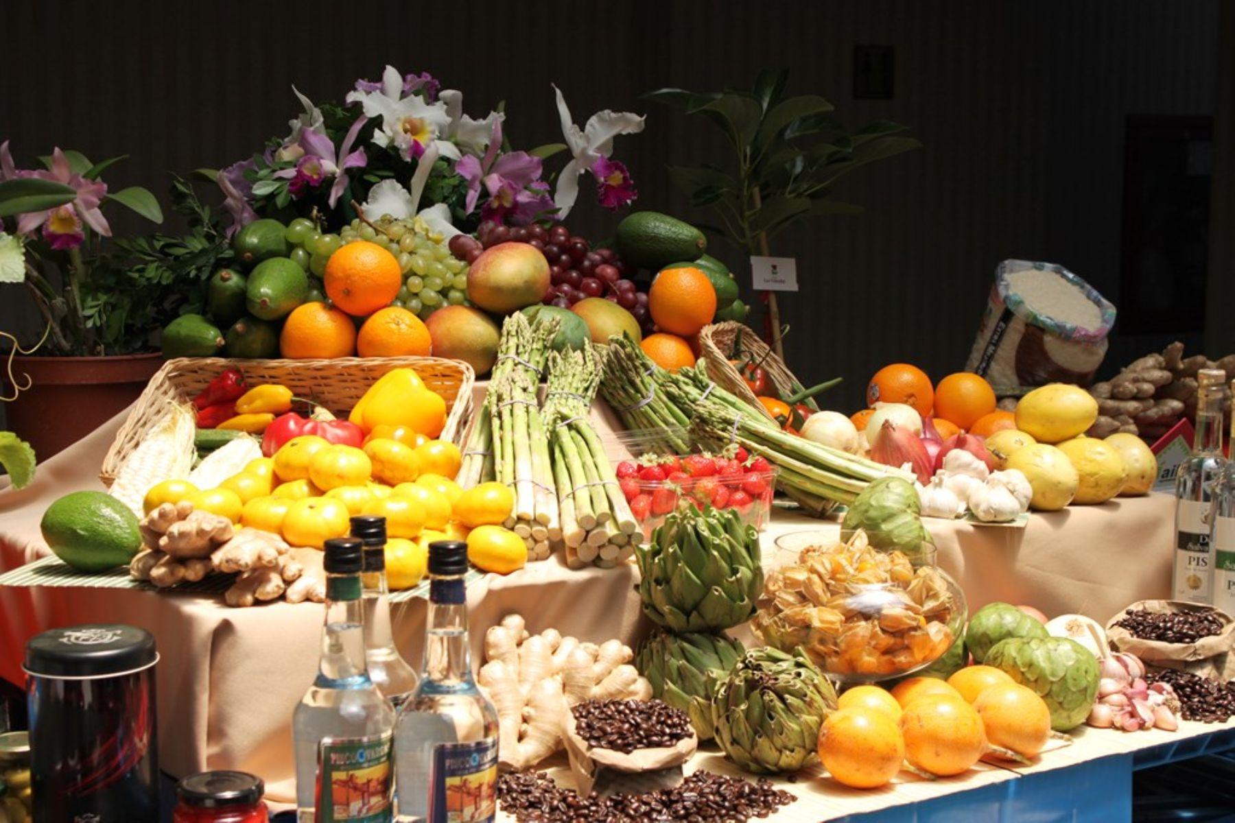 Agroexportaciones suman US$ 4,982 millones y crecen 17% a agosto