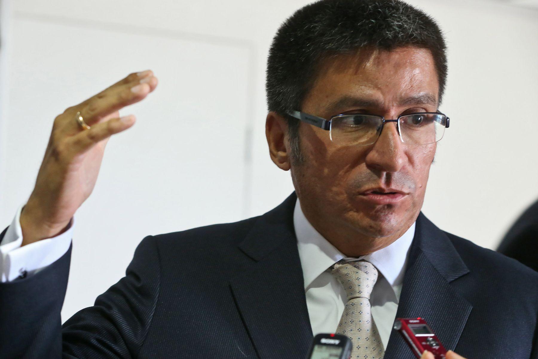 Nuevo viceministro de Economía, Hugo Perea. ANDINA/archivo