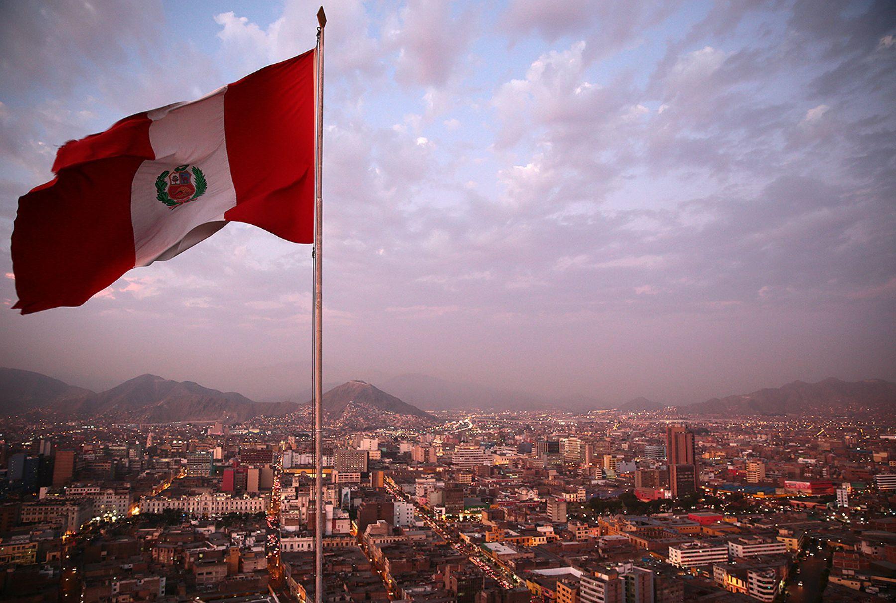 Centro Financiero, Lima.Foto: ANDINA/Carlos Lezama