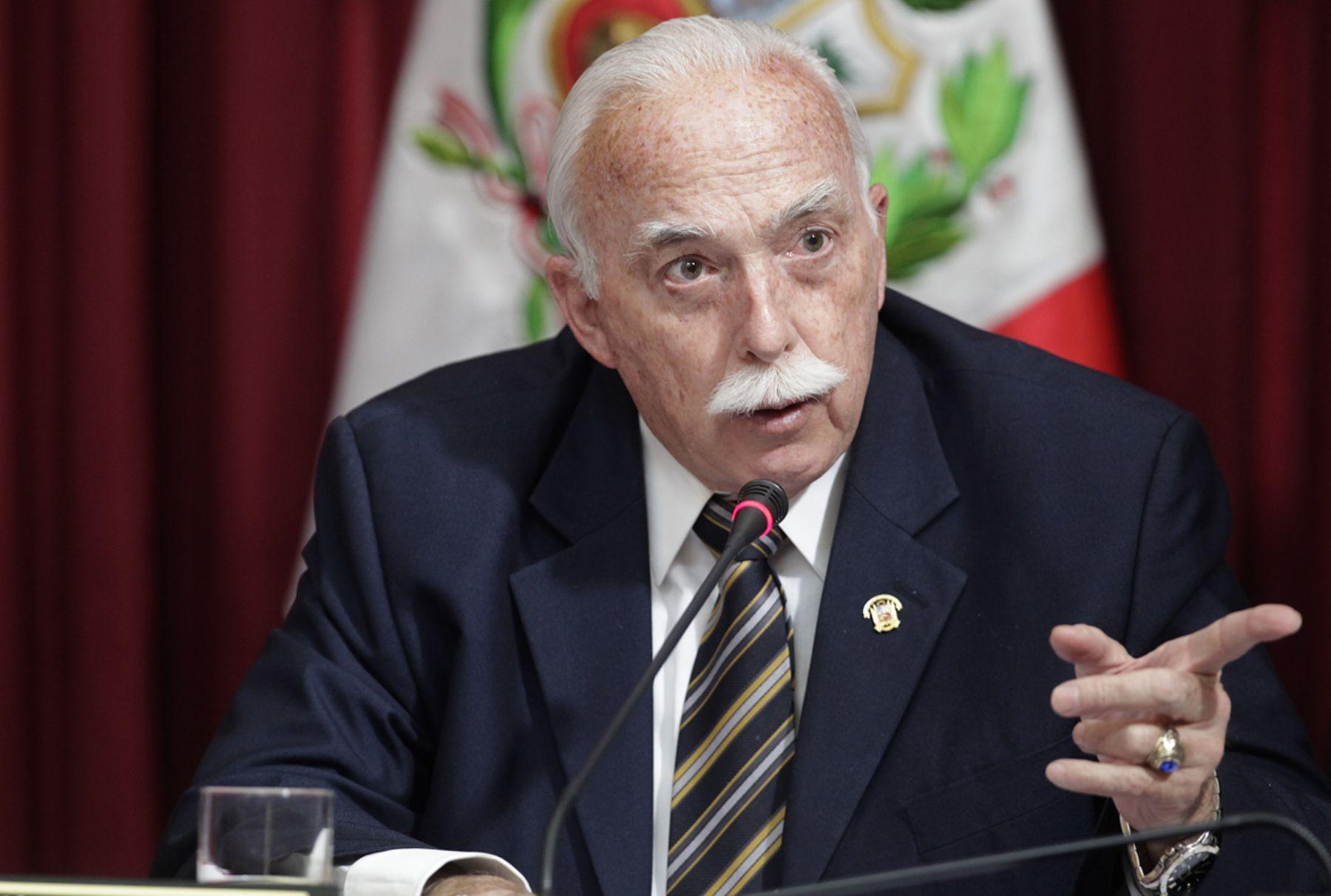 Legislador Carlos Tubino. ANDINA/Oscar Farje