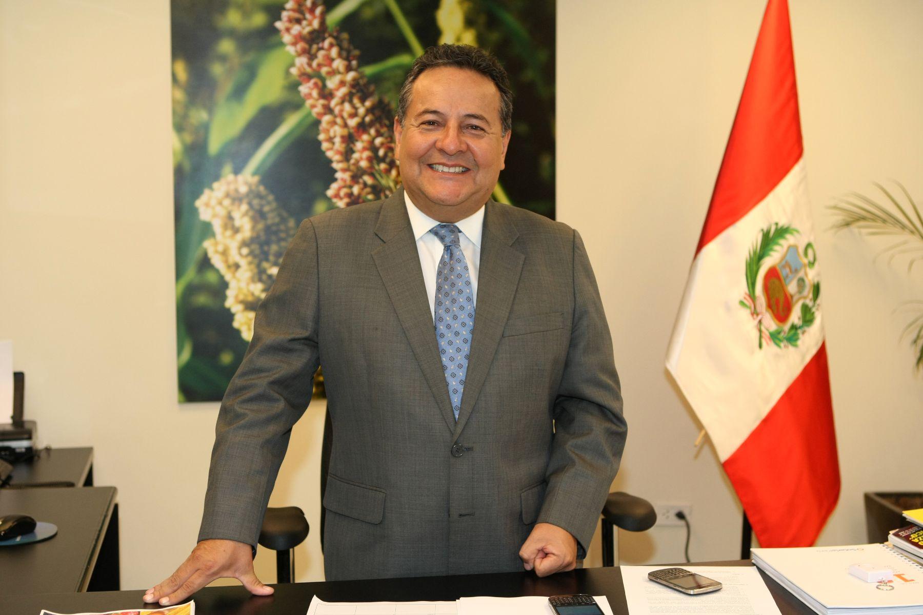 Empresario Alfonso Velásquez.Foto:  ANDINA/Norman Córdova