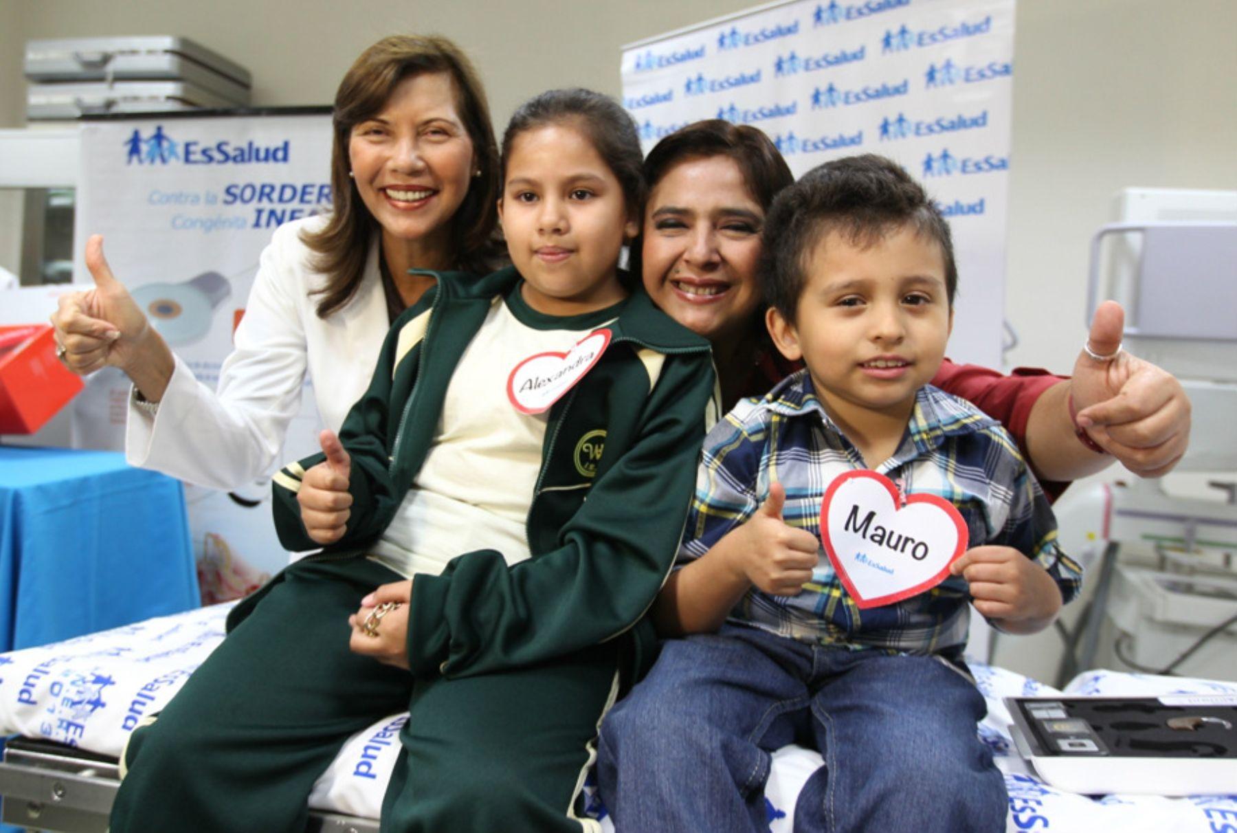 EsSalud invertirá S/. 16 millones en compra de implantes para sordera infantil