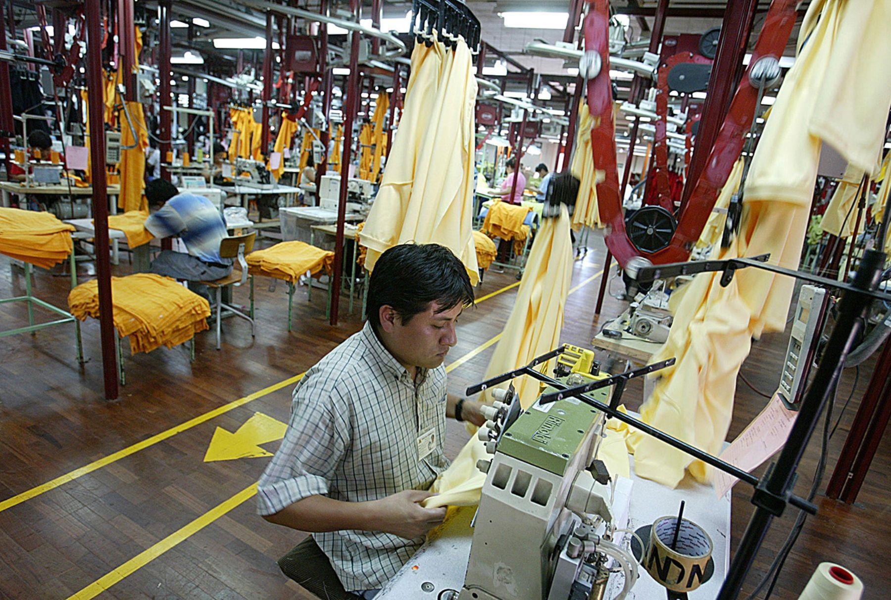 Textiles. Foto: ANDINA/Jack Ramón