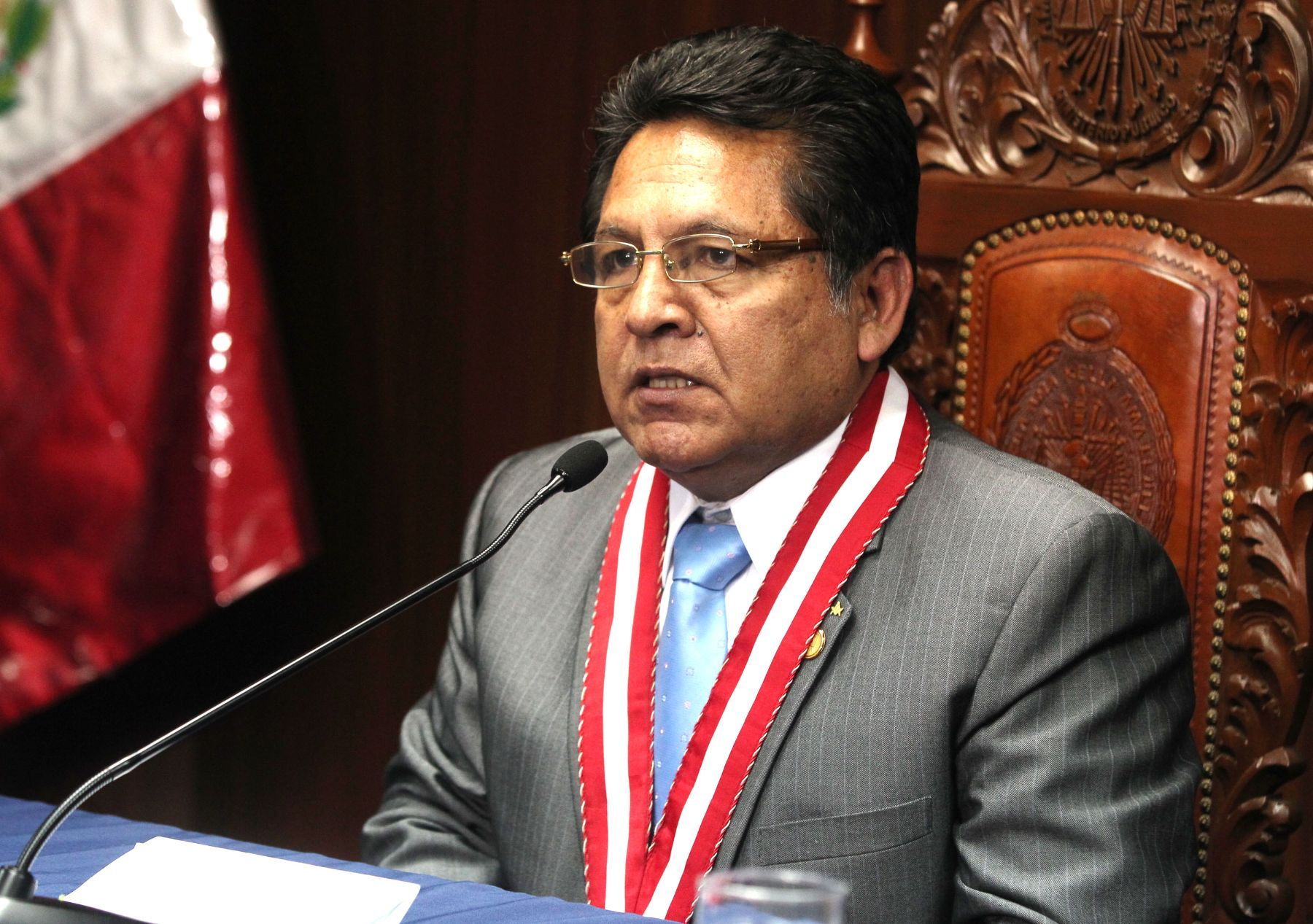 New Attorney General of Peru, Carlos Ramos Heredia. Photo: ANDINA/Vidal Tarqui