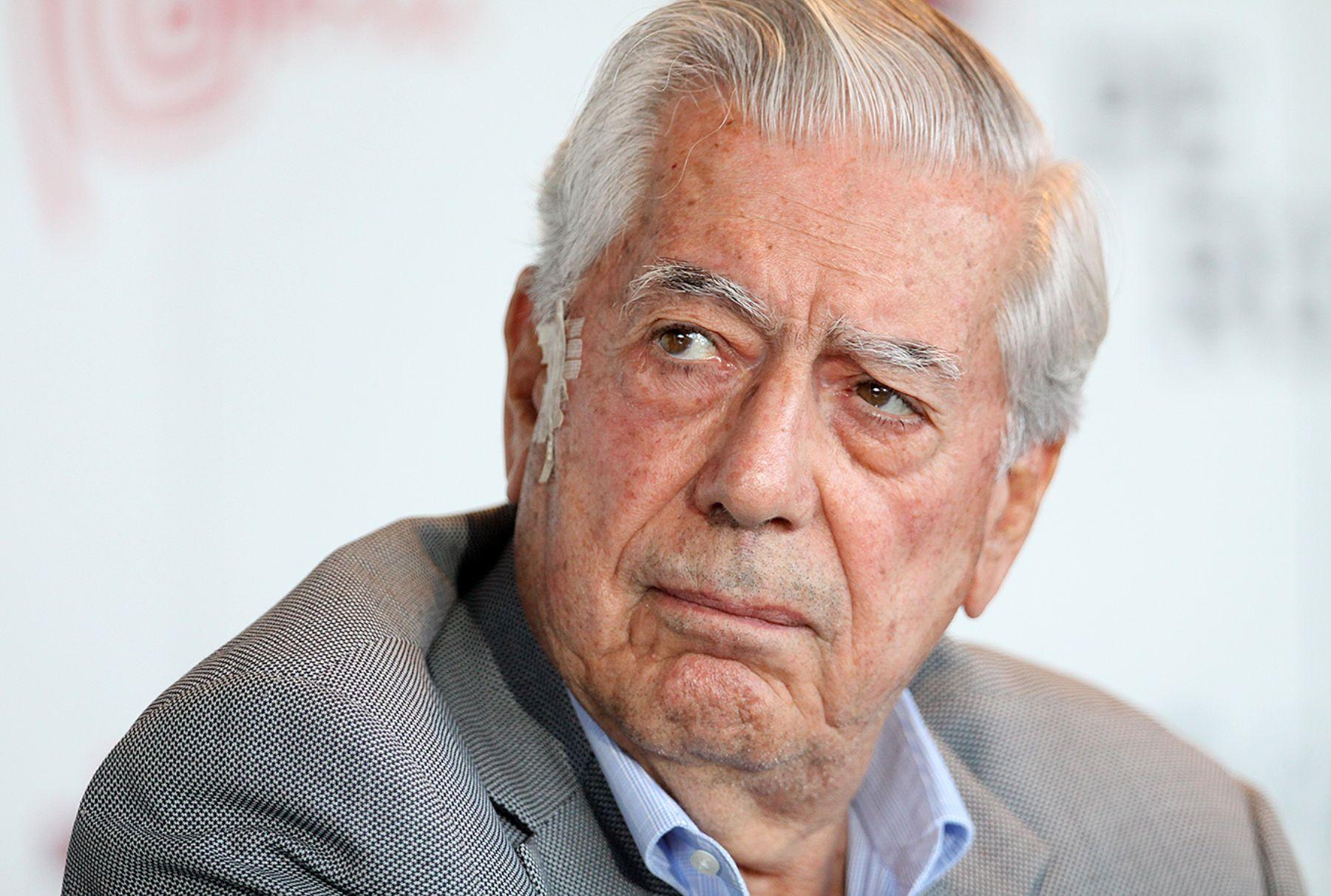 Premio Nobel de Literatura 2010, Mario Vargas Llosa. Foto: ANDINA/Archivo.