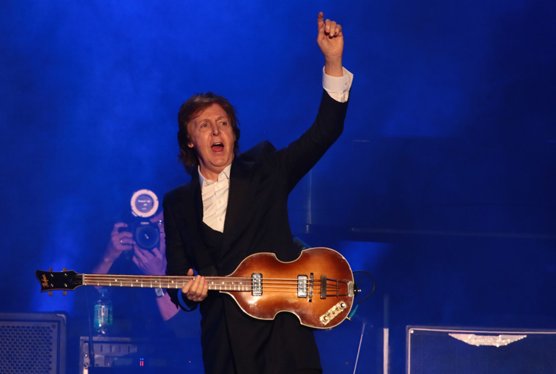 Paul McCartney en Lima.Foto:ANDINA/Carlos Lezama