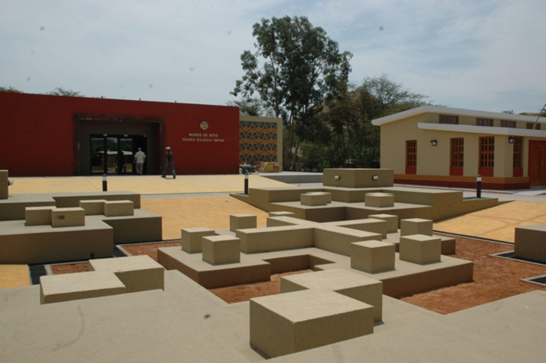 Complejo arqueológico Huaca Rajada-Sipán, en la región Lambayeque. ANDINA/archivo
