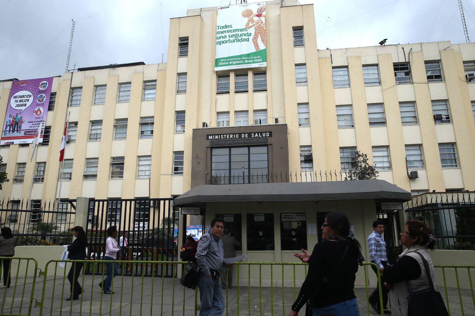 Ministerio de Salud. Foto: ANDINA/archivo