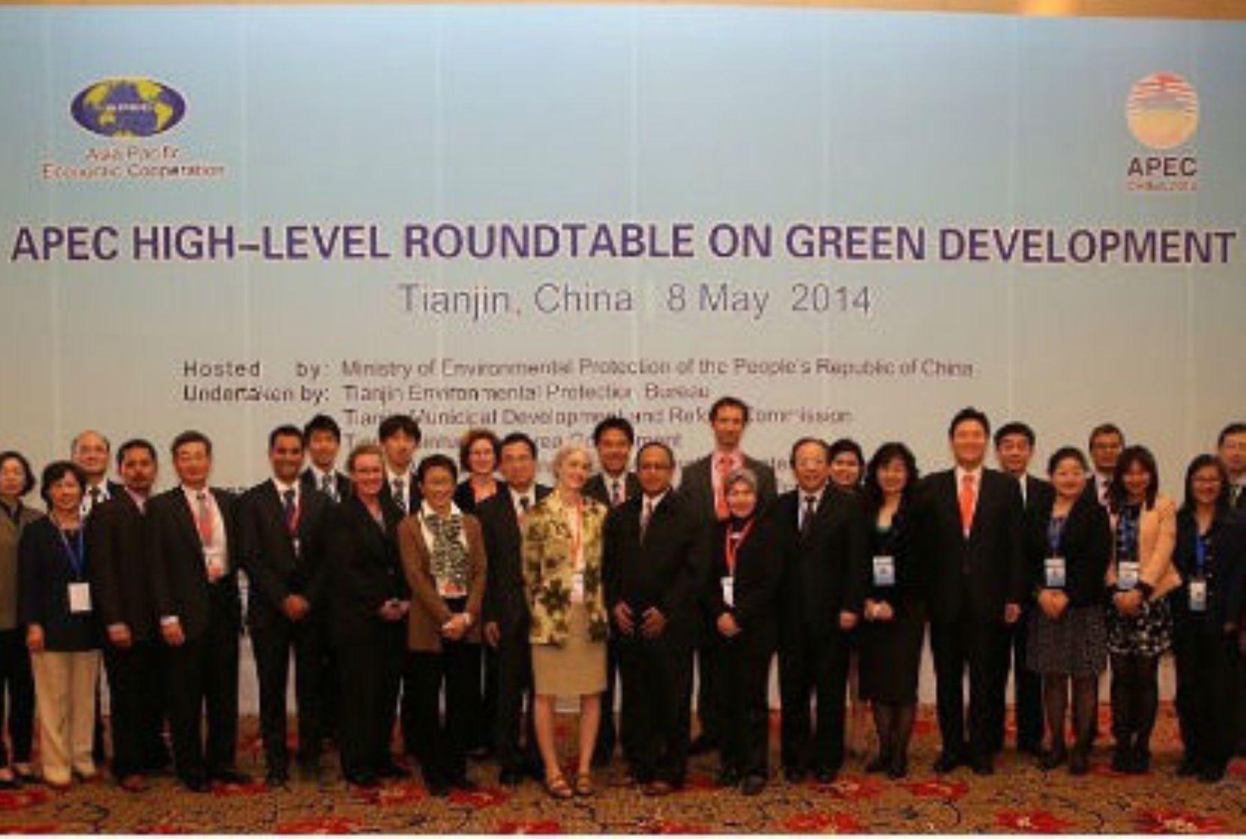 Minam participó en reunión de alto nivel – APEC sobre Crecimiento Verde en China