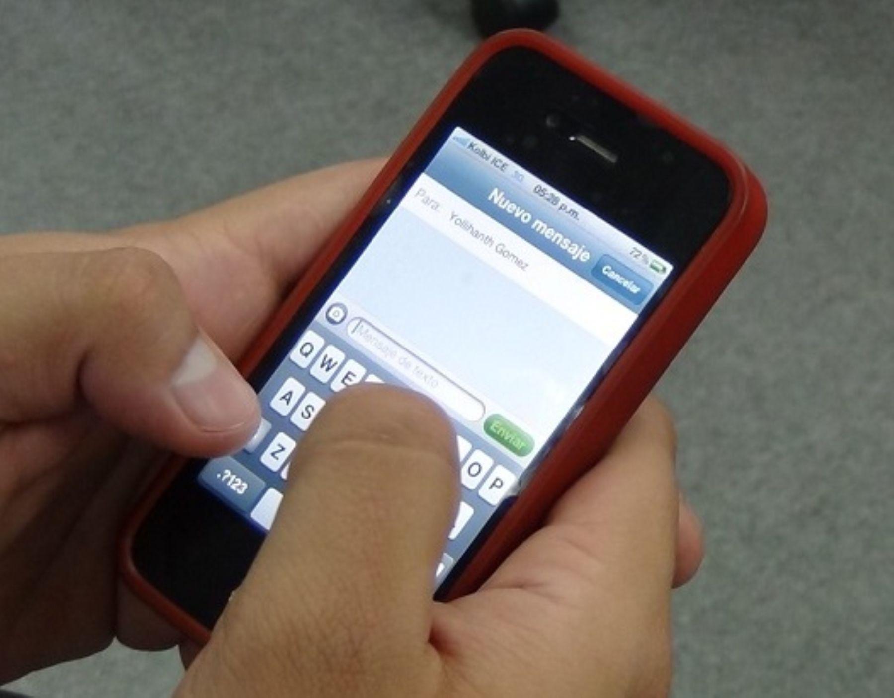 Movistar anunció la liberación del servicio de mensajes gratuitos para los habitantes de las regiones de Loreto y San Martín desde hoy domingo 26 hasta las 23:59 horas del martes 28 de mayo. Cortesía