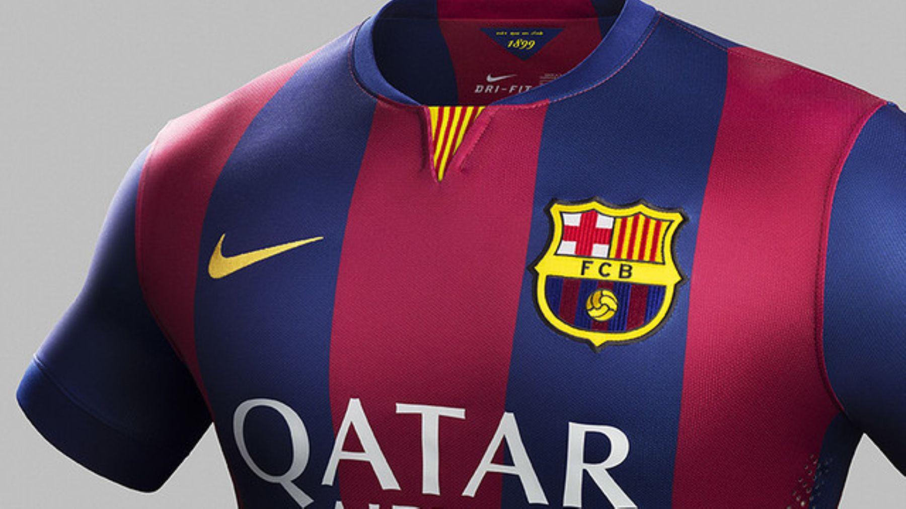 a93dfd50ec Barcelona presentó camiseta para la temporada 2014-2015