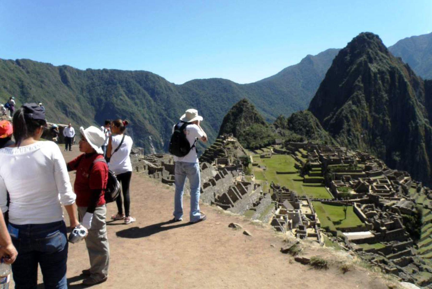 Ejecutan labores de prevención ante posibles incendios forestales en Machu Picchu. Foto: ANDINA/Percy Hurtado.