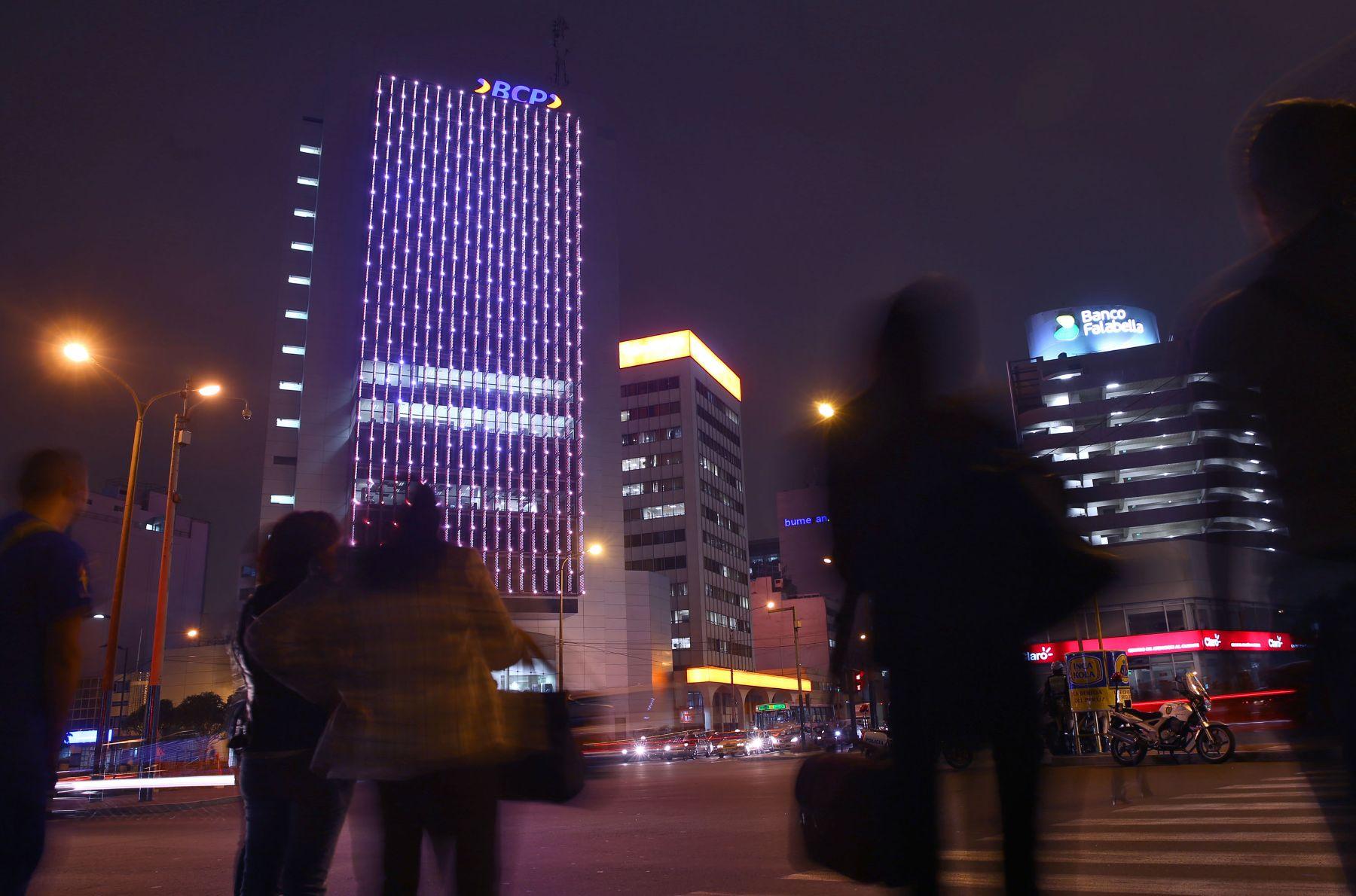 Centro financiero de Lima. Foto: ANDINA/archivo