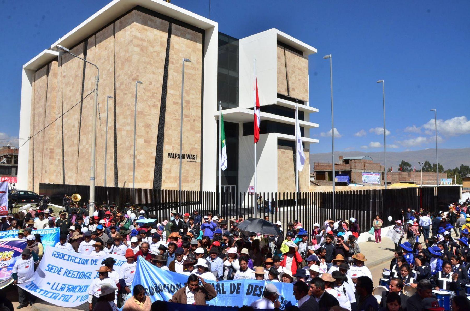 Gobierno Regional de Junín inauguró el Museo de la Memoria en Huancayo. Foto: ANDINA/Difusión.