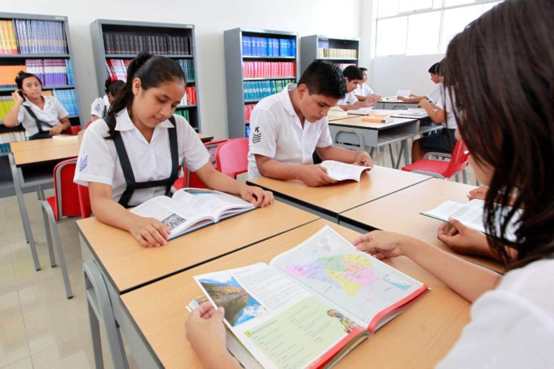 Solo seis colegios de la selva del Perú, han iniciado su proceso de autoevaluación.