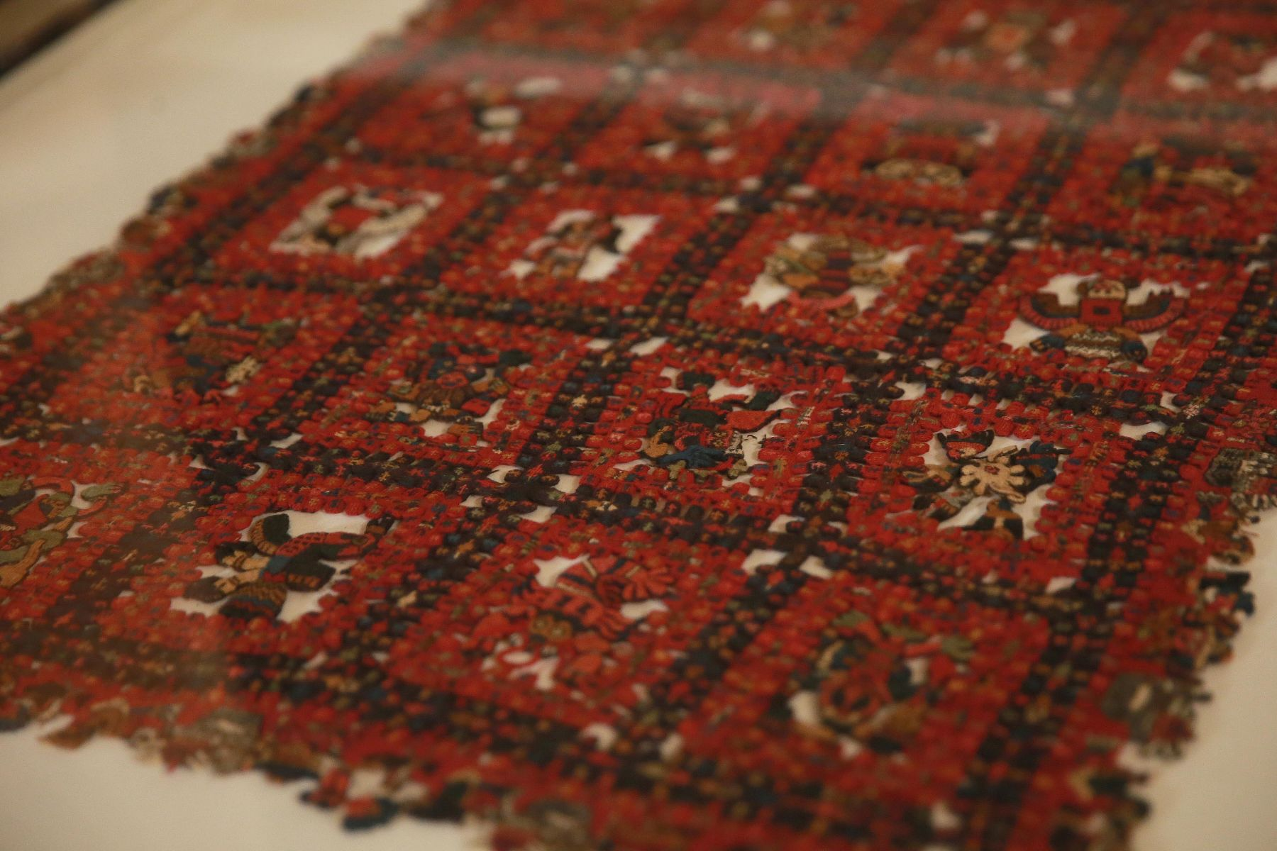 LIMA,PERU JUNIO 18.  Jefe de Estado participó en la recepción de la colección de mantos y textiles de la Cultura Paracas que se exhibían en el Museo Municipal de Gotemburgo (Suecia).  Foto: ANDINA/Prensa Presidencia