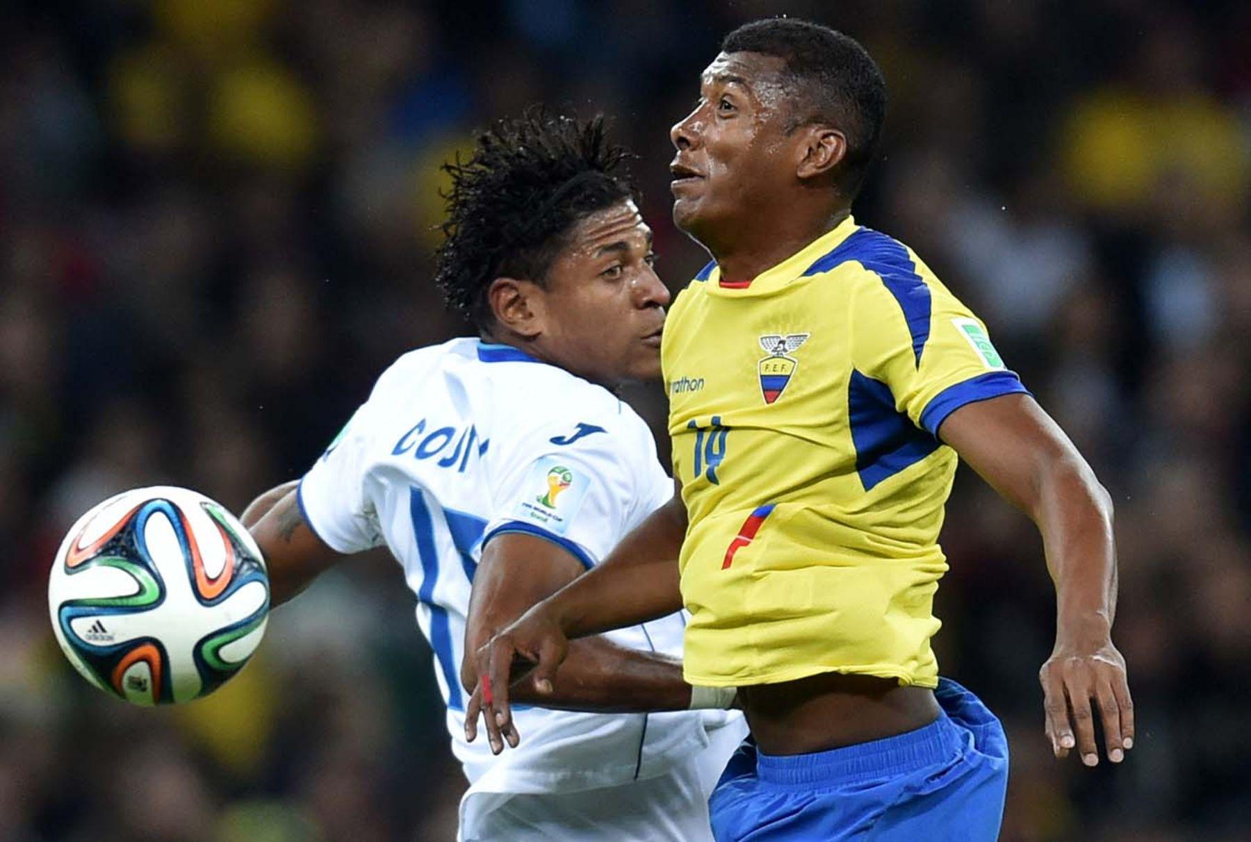Honduras y Ecuador empatan a un gol en duelo de descarte por el grupo E