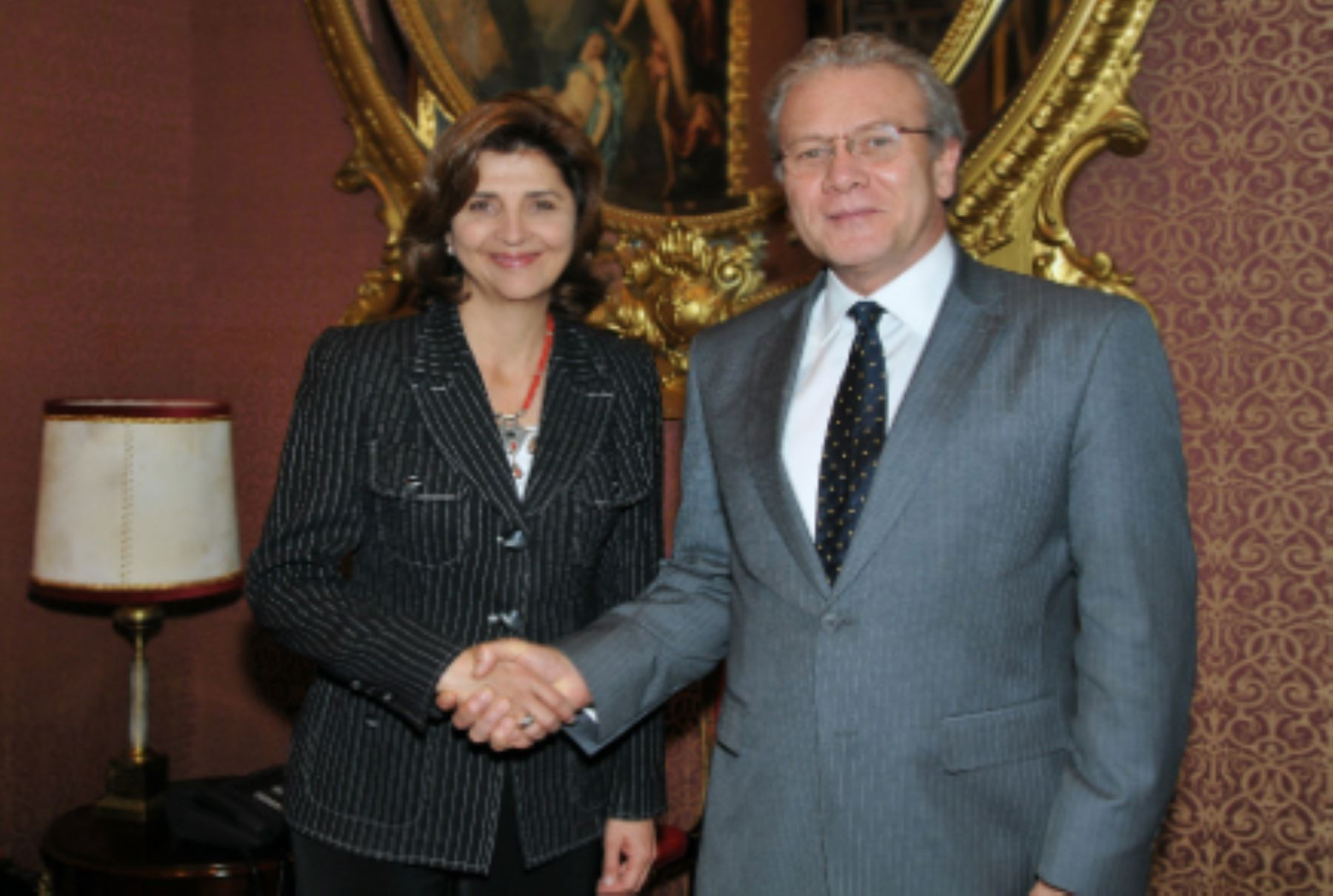 Foreign ministers met in Lima, Peru.