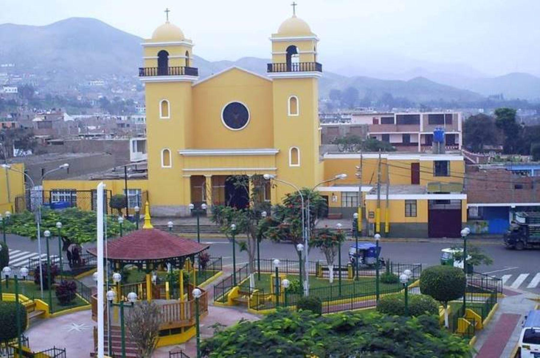 El distrito de Mala, en Cañete, fue la zona urbana más afectada por el sismo de magnitud 6.0 registrado anoche. ANDINA/Difusión
