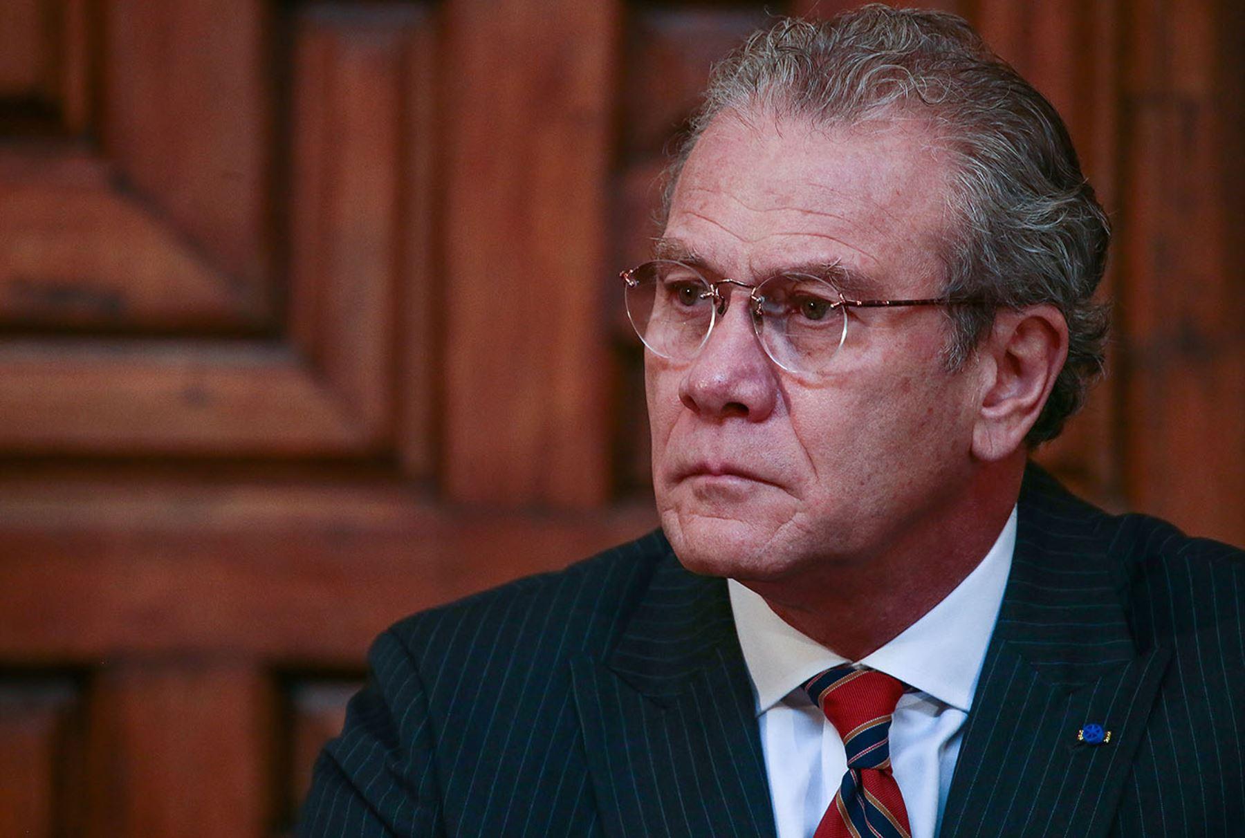 Ministro de Relaciones Exteriores del Perú, Gonzalo Gutiérrez. ANDINA/Carlos Lezama