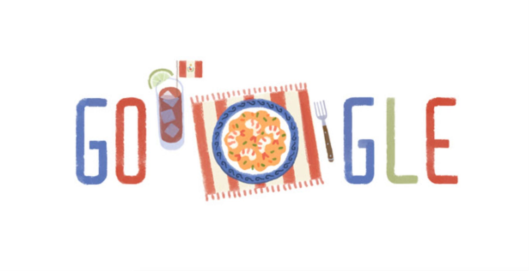 Doodle por Fiestas Patrias de Perú
