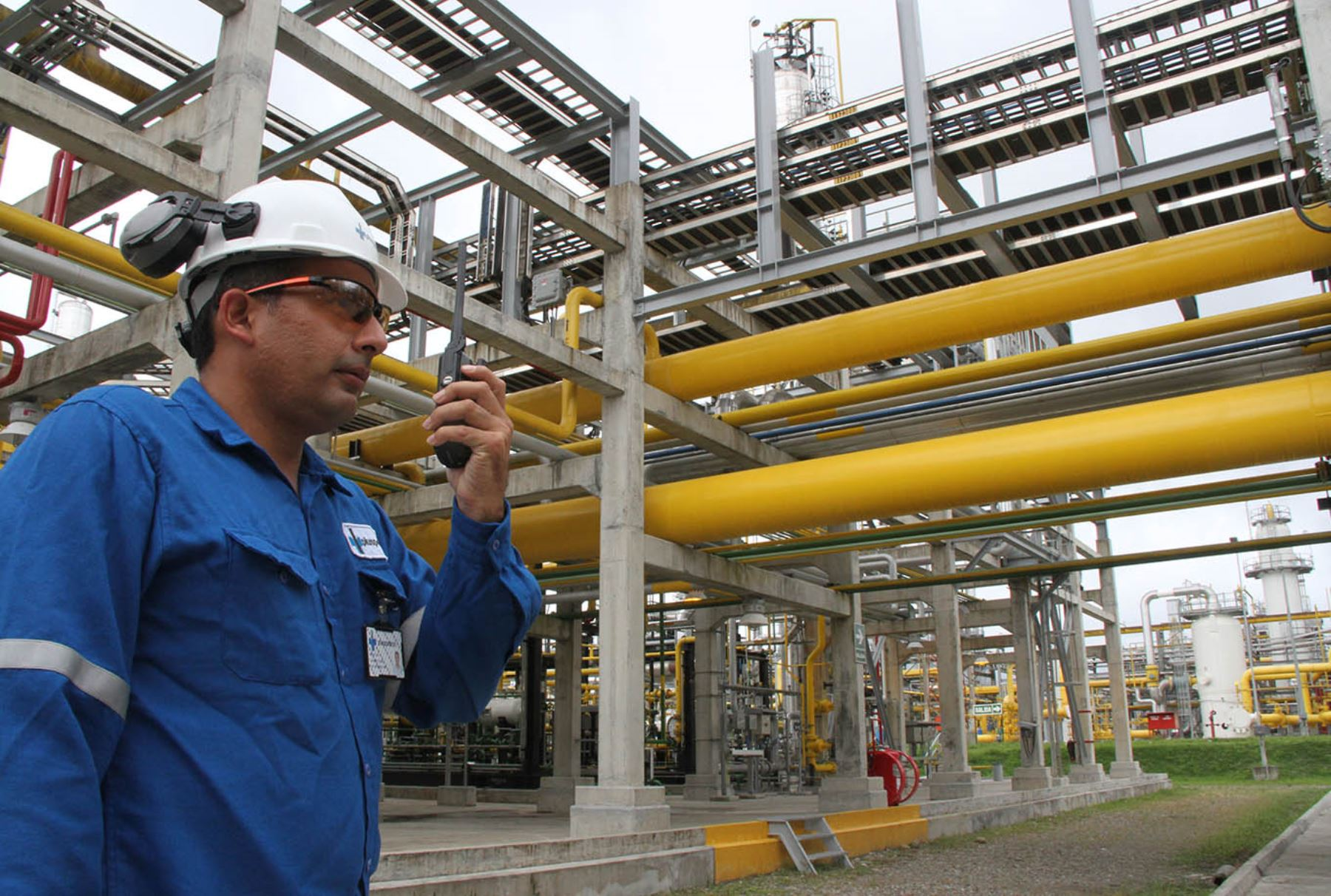 Instalaciones de una empresa de hidrocarburos.Foto:  ANDINA/Difusión.
