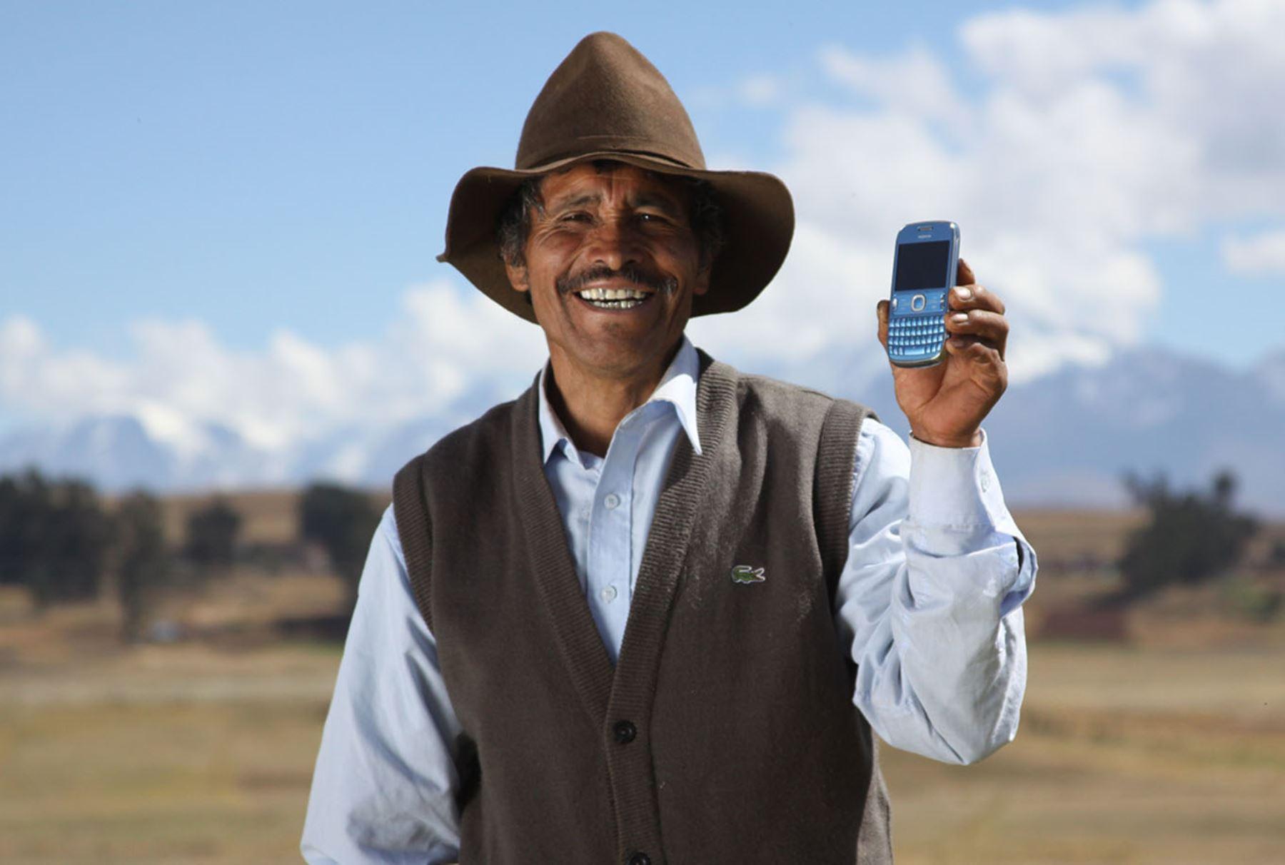 Usuario de telefonía celular. ANDINA/Difusión