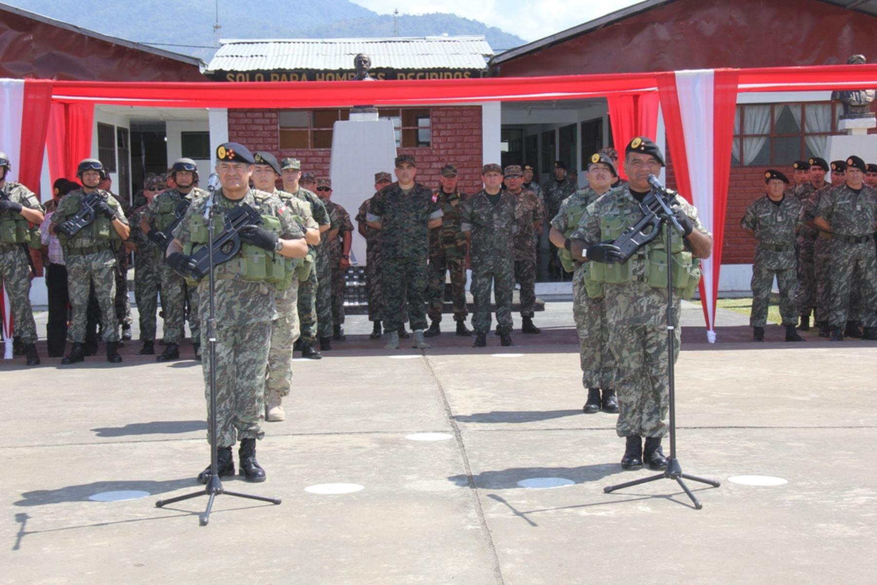 En una ceremonia castrense fue reconocido el General de Brigada César Astudillo Salcedo como el nuevo Comandante General del Comando Especial de los Valles de los Ríos Apurímac, Ene y Mantaro. (Ce - Vraem). Difusión