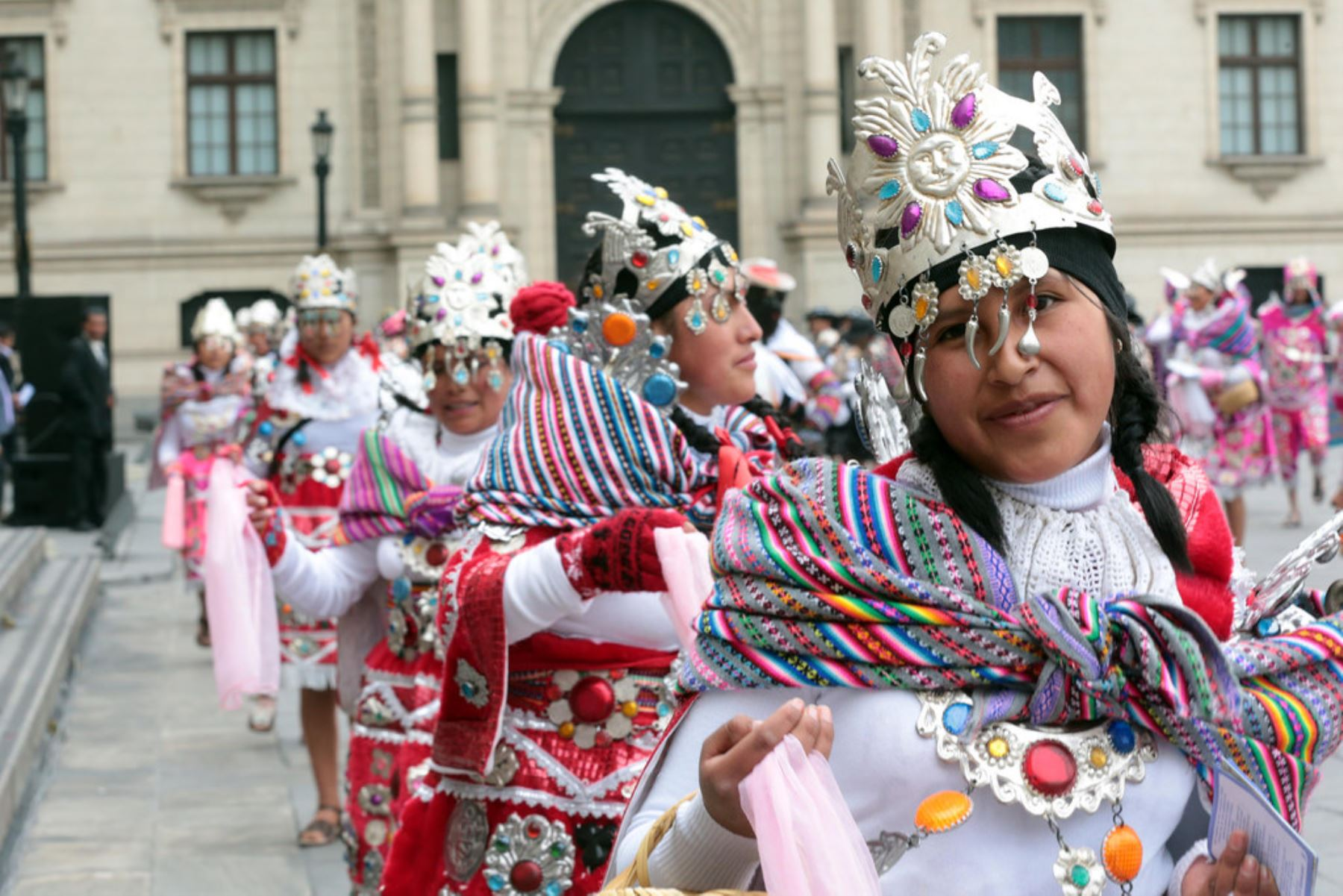 Palacio de Gobierno fue escenario de Festividad de Carhuamayo.