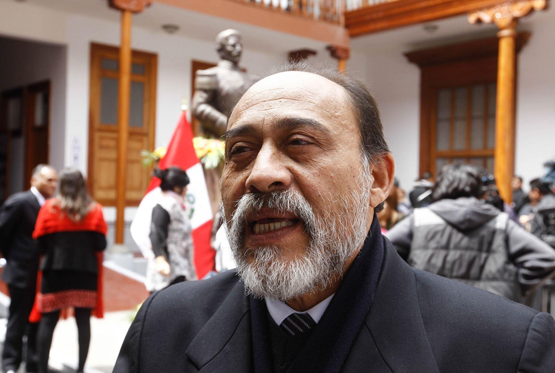 Jefe de la Reniec, Jorge Yrivarren. ANDINA/Juan Carlos Guzmán
