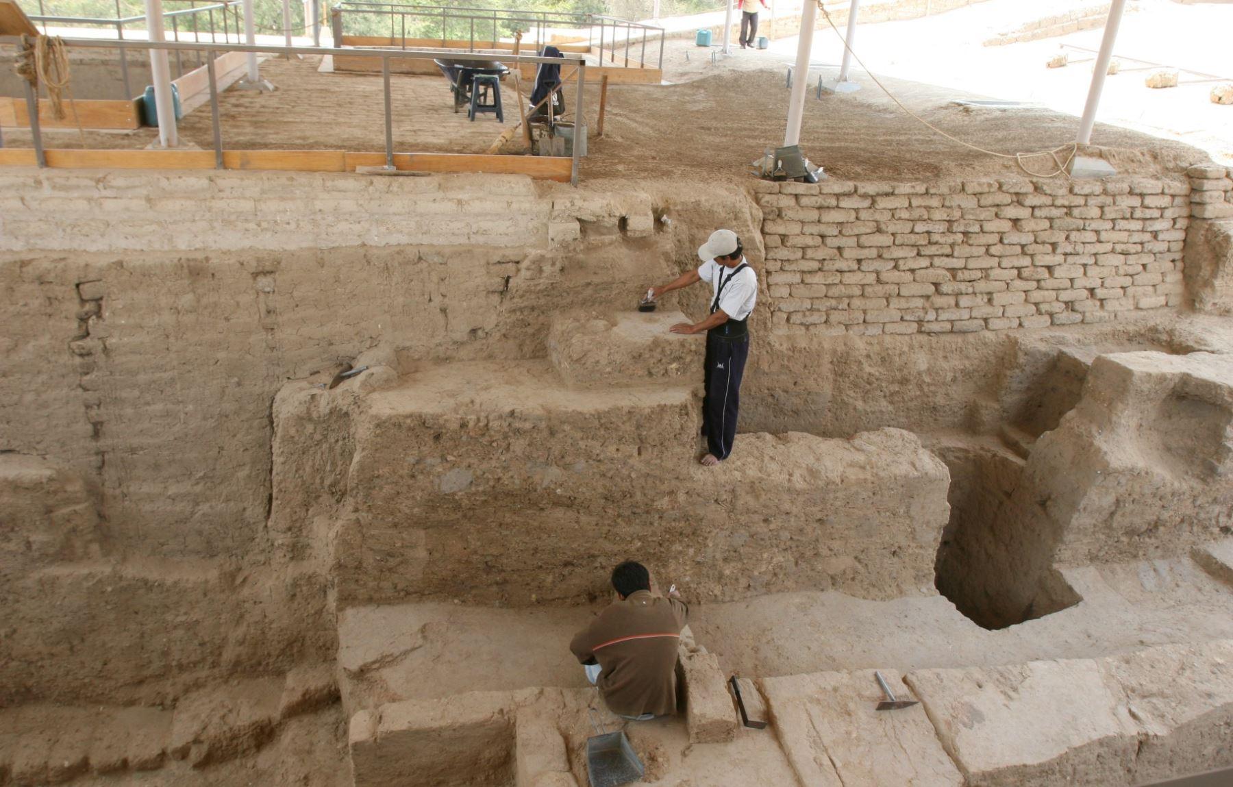La historia de Sipán se construye a partir de las evidencias halladas en Huaca Rajada.