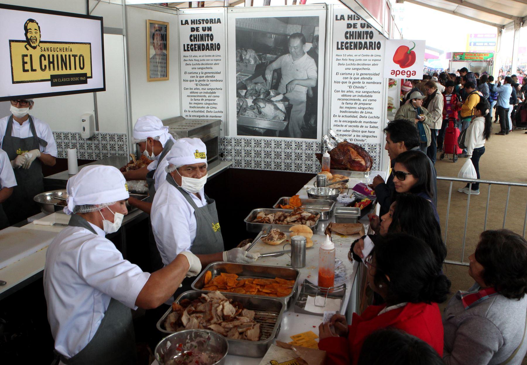 LIMA PERÚ, SETIEMBRE 8. Feria Gastronómica Mistura 2014. Foto: ANDINA/Melina Mejia