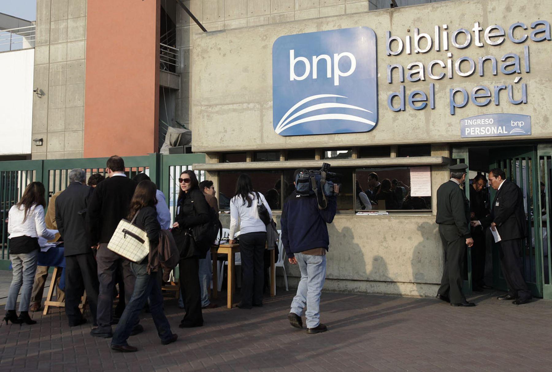 Biblioteca Nacional. ANDINA