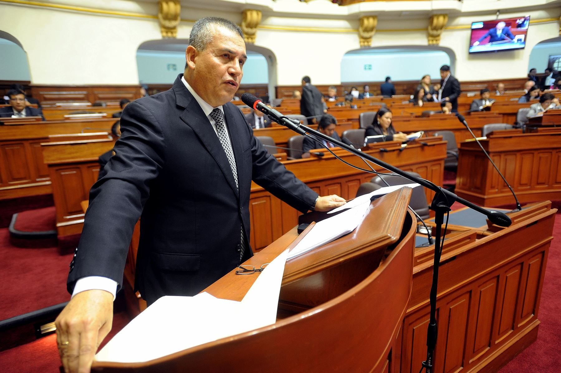 Ministro del Interior, Daniel Urresti.