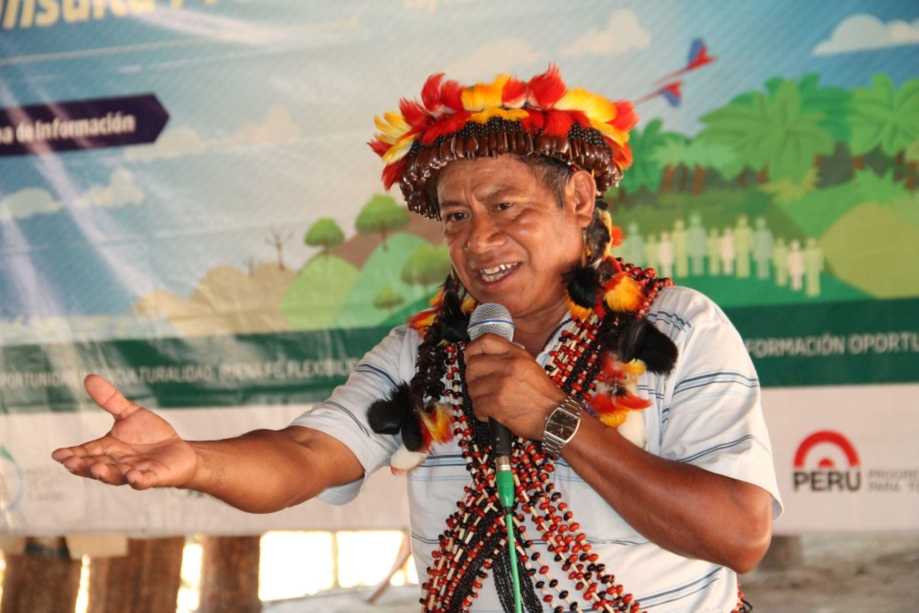 Representante de pueblo originario participó en proceso de consulta previa en Lamas, región San Martín.
