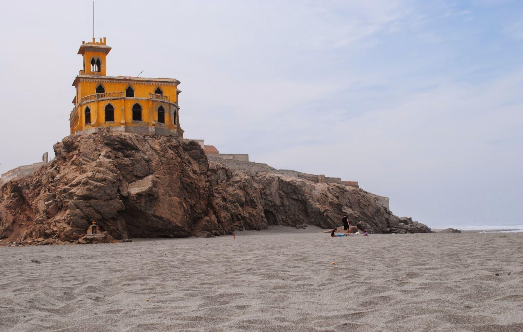 Gobierno pondrá en valor castillo Forga ubicado en Mollendo, provincia de Islay, Arequipa.