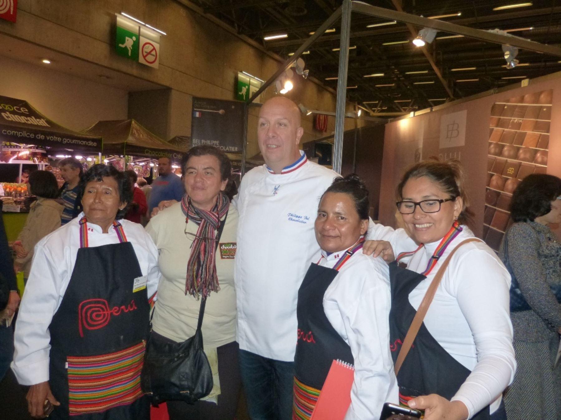 Asociación de cacaoteras de Mishky Cacao recibió reconocimiento en Paris
