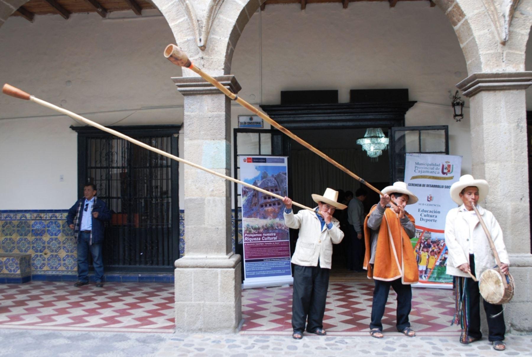 Clarín cajamarquino ANDINA/Eduard Lozano
