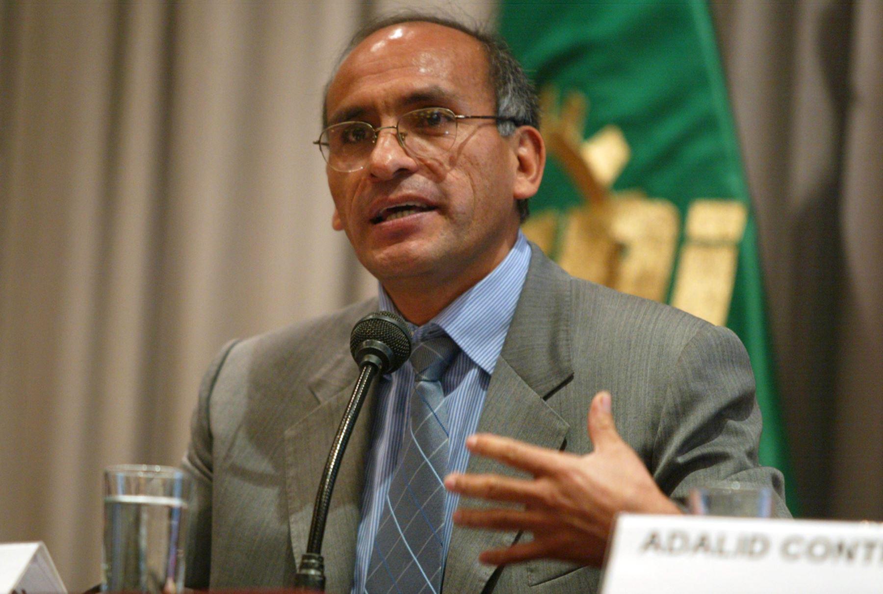 Ministro de Economía y Finanzas, Waldo Mendoza Bellido. ANDINA