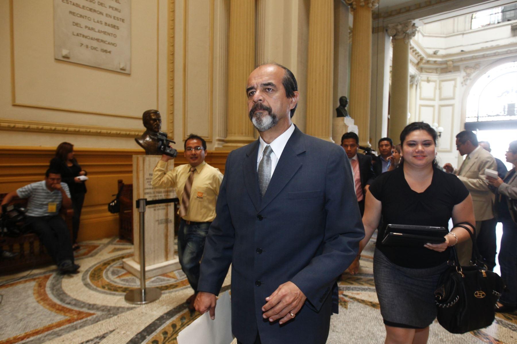 Legislador Mauricio Mulder.ANDINA/Juan Carlos Guzmán