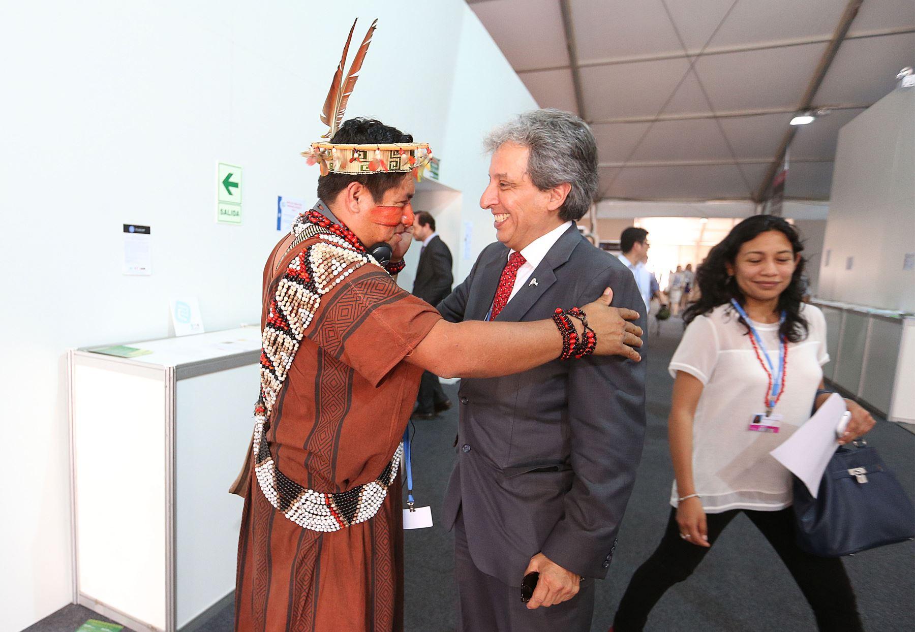 LIMA,PERÚ-DICIEMBRE 05. Manuel Pulgar-Vidal Ministro de Ambiente en la conferencia de la COP 20.Foto: ANDINA/Vidal Tarqui