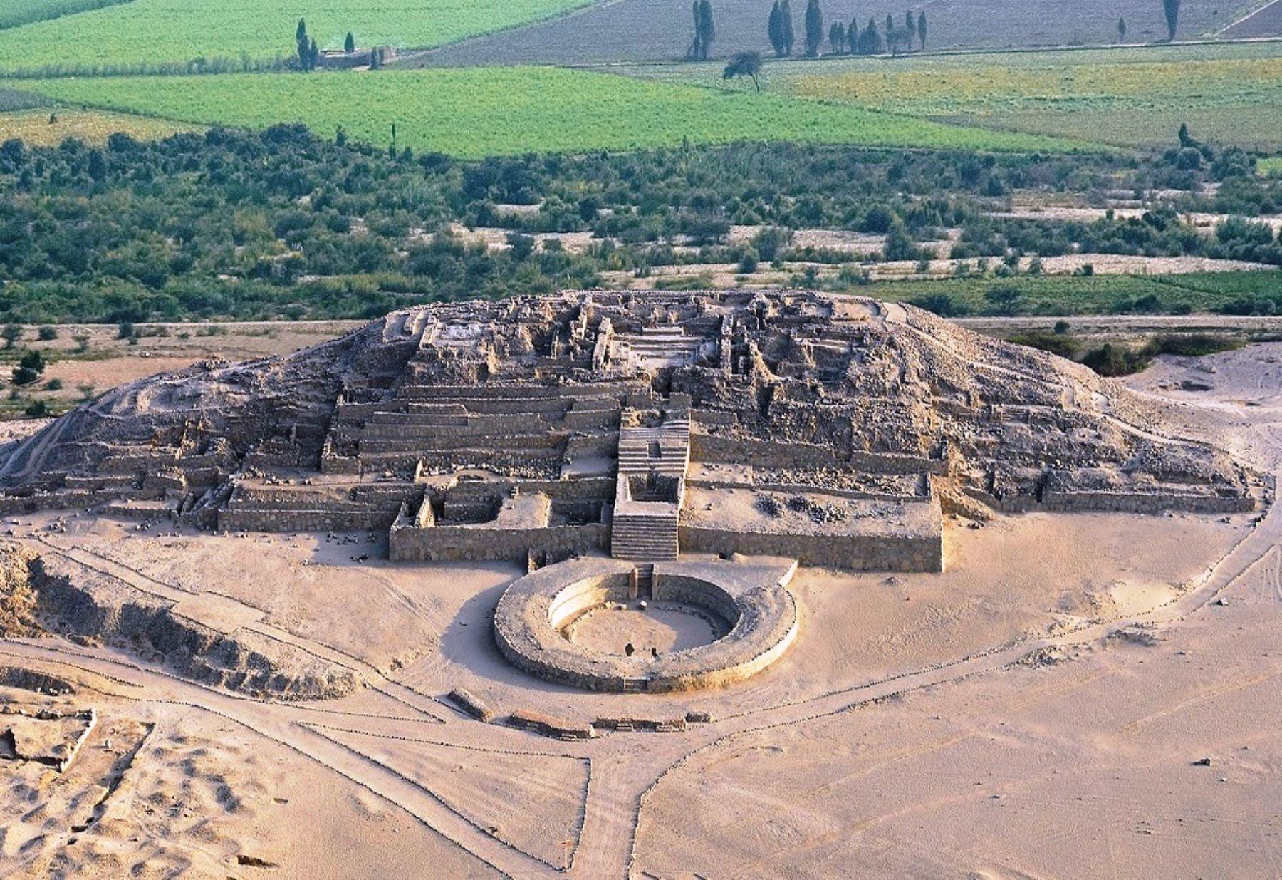 Zona Arqueológica de Caral recibirá a visitantes por Año Nuevo. Foto: ANDINA/Difusión.
